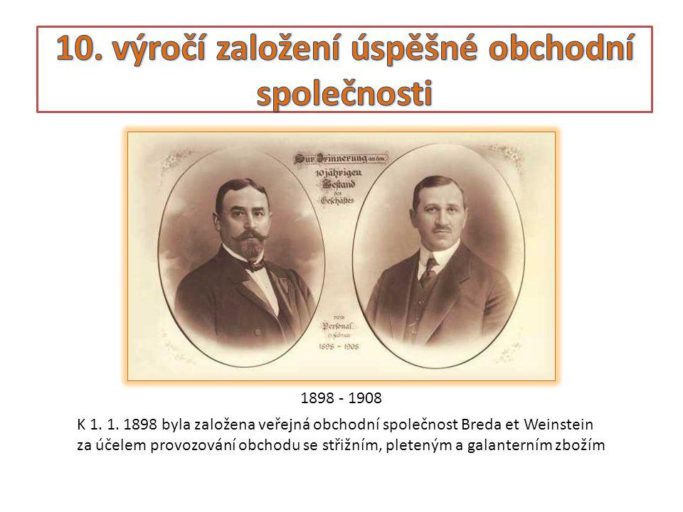 MAX BREDA • Max Breda pocházel z početné židovské komunity v Boskovicích.