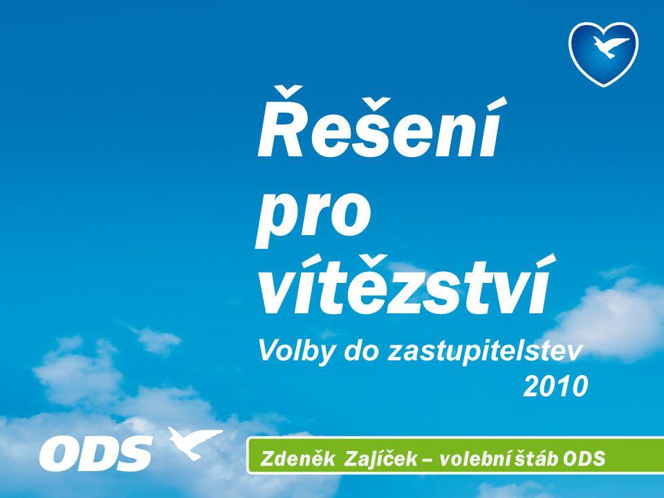 Řešení pro vítězství Volby do zastupitelstev 2010 Zdeněk Zajíček – volební štáb ODS