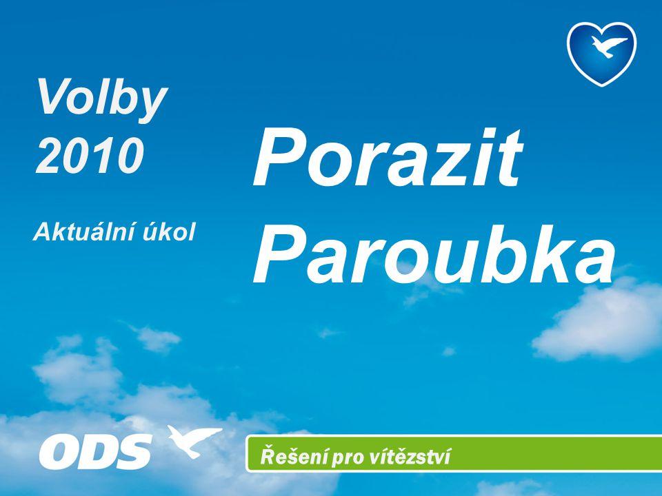 Řešení pro vítězství Porazit Paroubka Volby 2010 Aktuální úkol