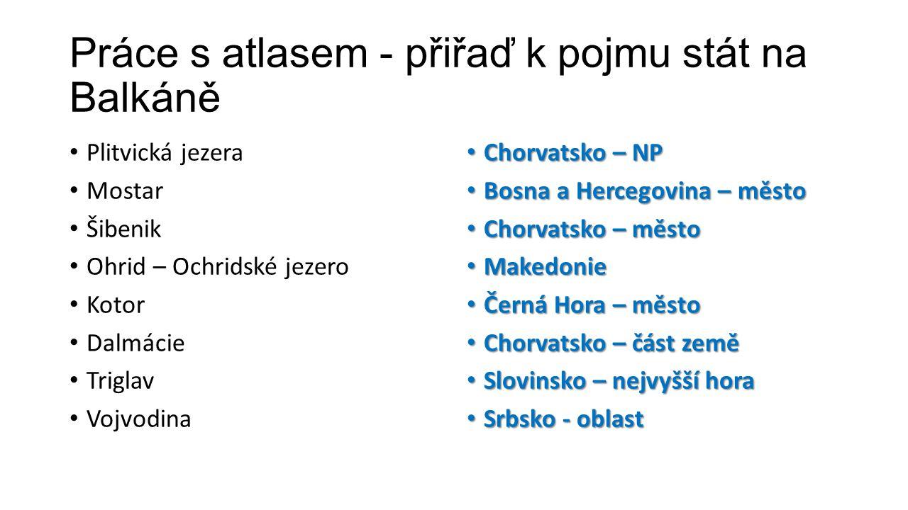 Slovinsko • Jak se jmenuje hlavní město.