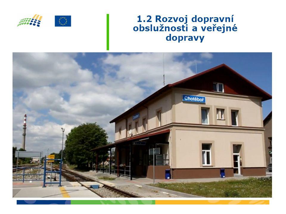1.2 Rozvoj dopravní obslužnosti a veřejné dopravy