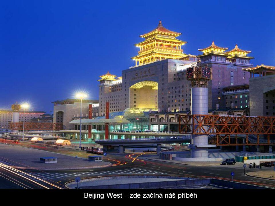 Lhasa Rail Station Lobby
