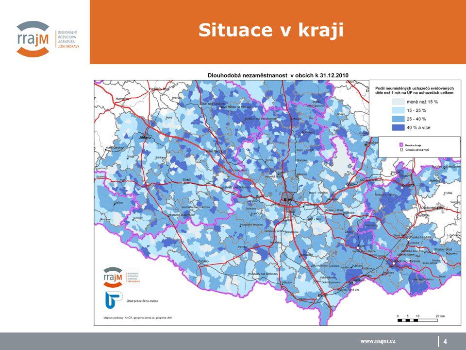 www.rrajm.cz 4 Situace v kraji