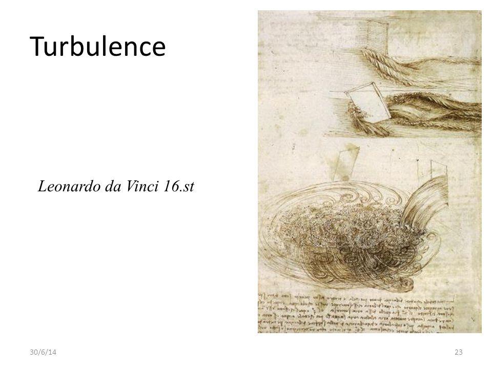 30/6/1423 Turbulence Leonardo da Vinci 16.st