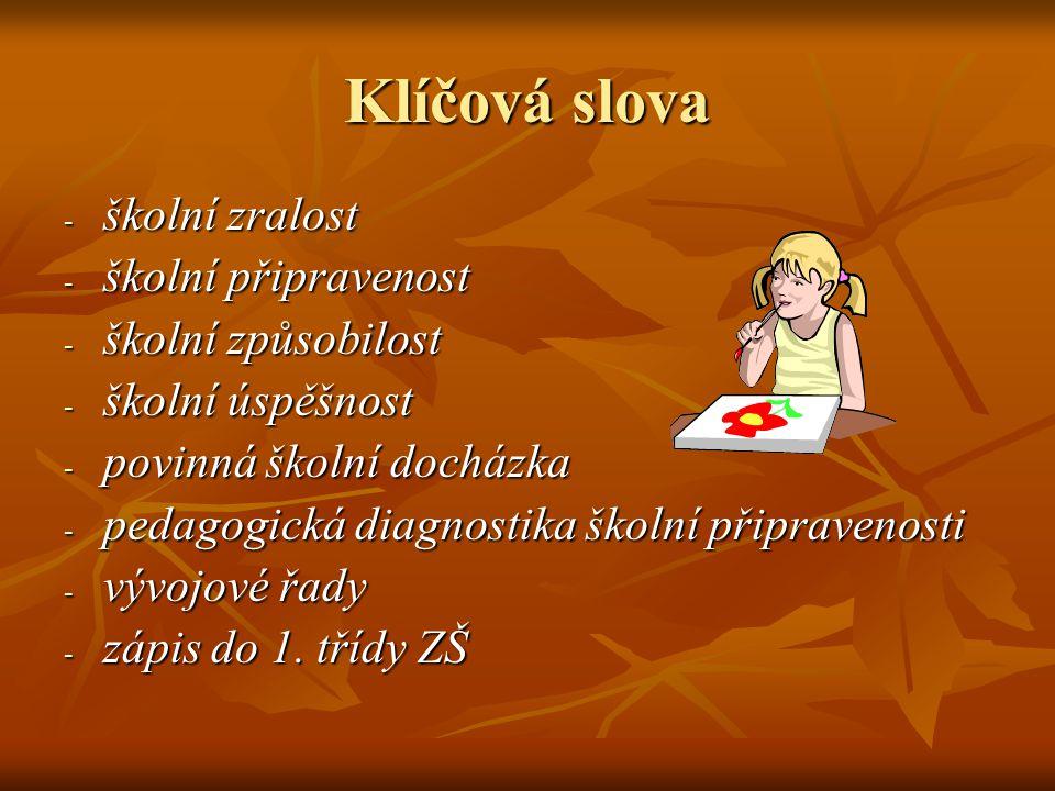 Desatero pro prvňáčky (ukázka ZŠ Slovenská, Praha 2)  Vím, jak se jmenuji, kde bydlím, kolik mi je let a jak se jmenují rodiče.