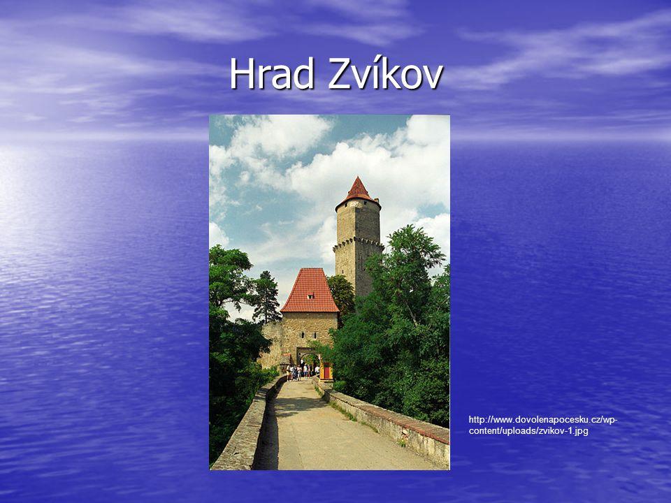 • SKLEPY http://www.hrad-zvikov.eu/prohlidkova-trasa/kralovsky-palac/
