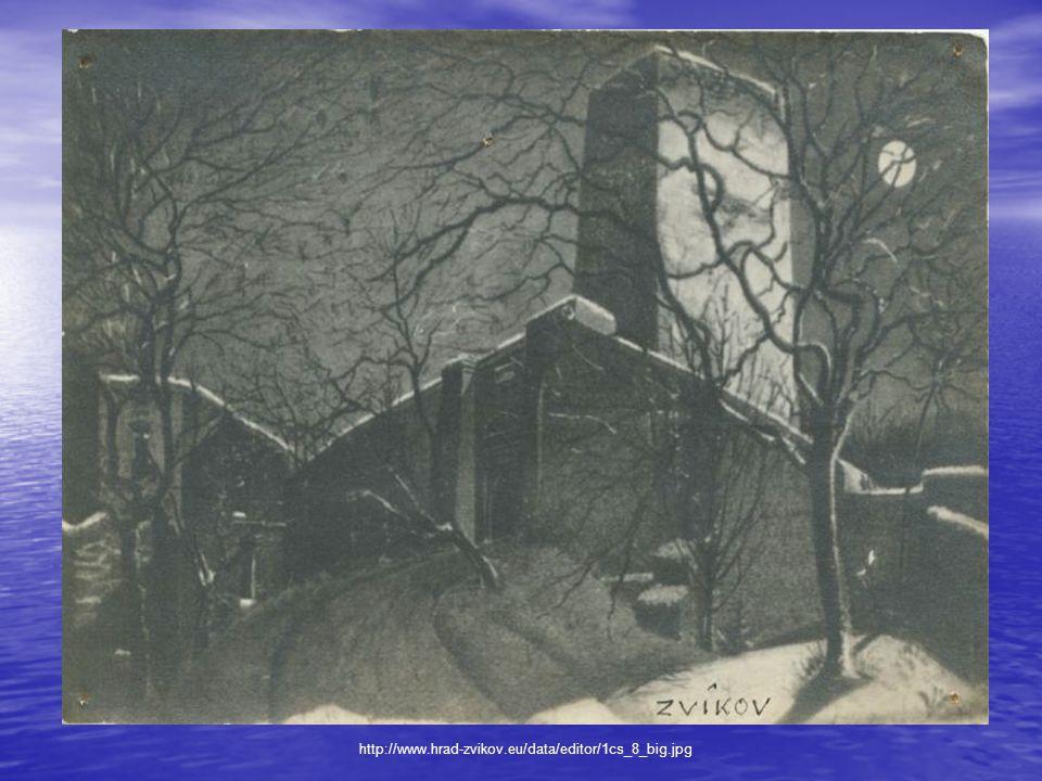 Popis hradu • Vstup do hradu vede přes kamenný most z 18.