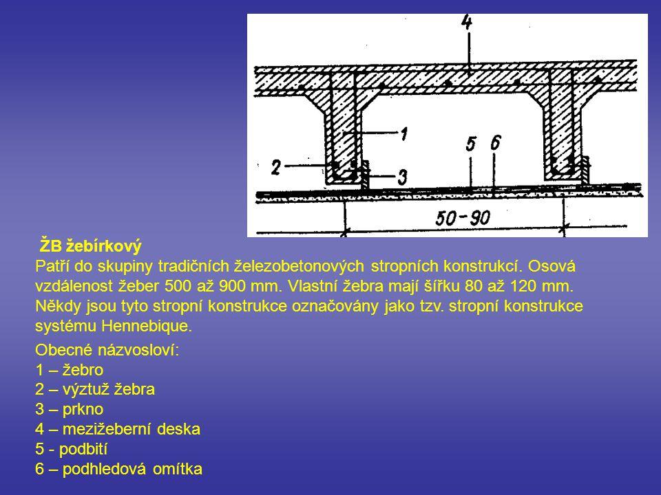 Dutinové stropní panely Patří do skupiny montovaných panelových stropních konstrukcí.