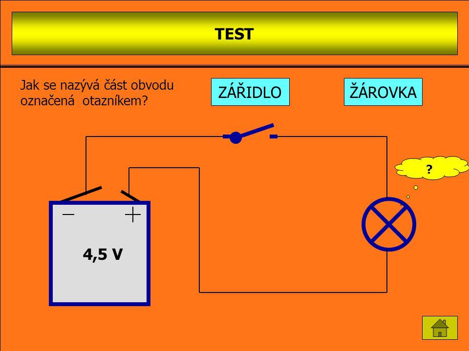 SÉRIO-PARALELNÍ ZAPOJENÍ ŽÁROVEK 4,5 V Chceš-li rozpojit obvod, klikni myší na spínač v obvodu! Žárovek do obvodu lze zapojit libovolný počet, ovšem o