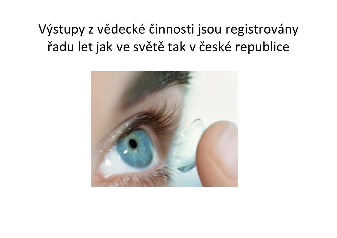 Výstupy z tvůrčí umělecké činnosti nemají systém registrace  Nobelovou cenou oceněn spisovatel Jaroslav Seifert, Karel Čapek ???