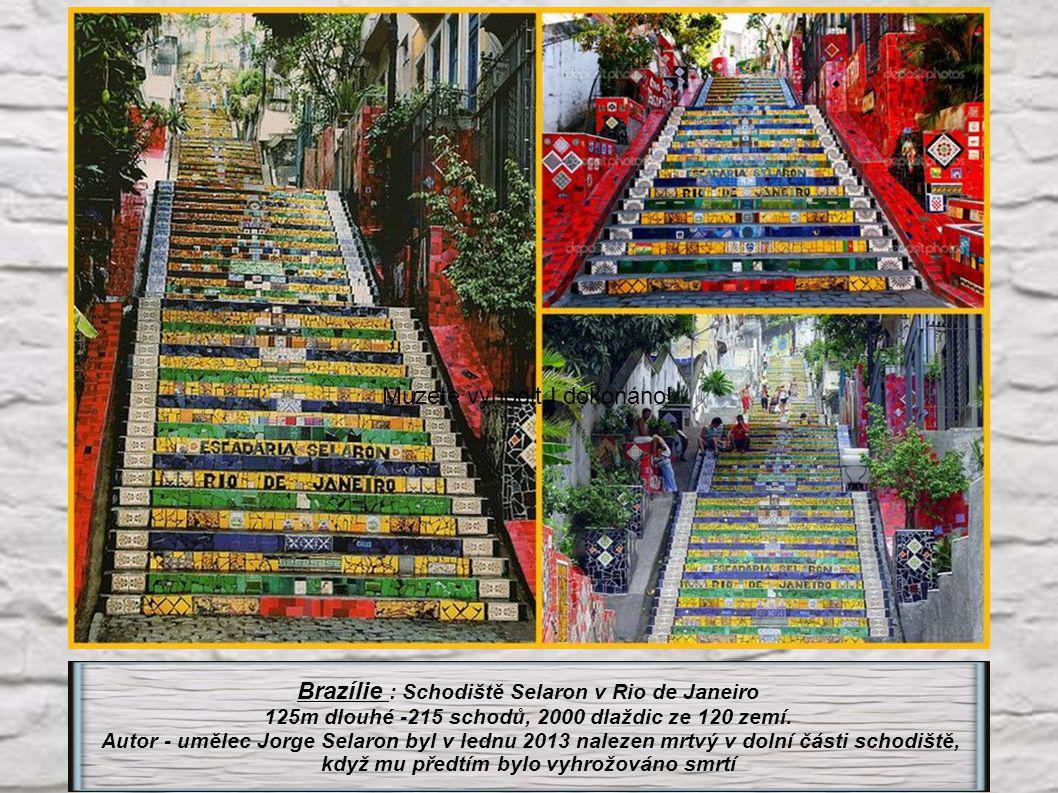 Indie : Chand Baori (stát Radžastan) 3500 schodů ve 13 patrech