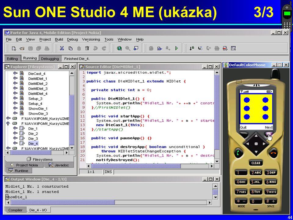 44 Sun ONE Studio 4 ME (ukázka) 3/3