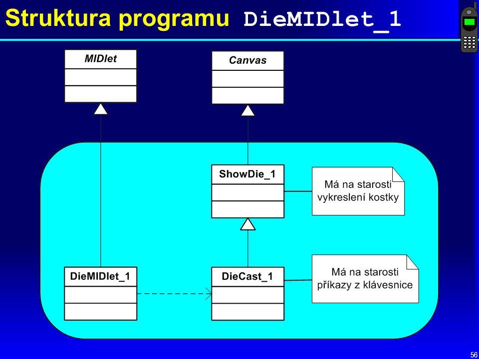 56 Struktura programu DieMIDlet_1