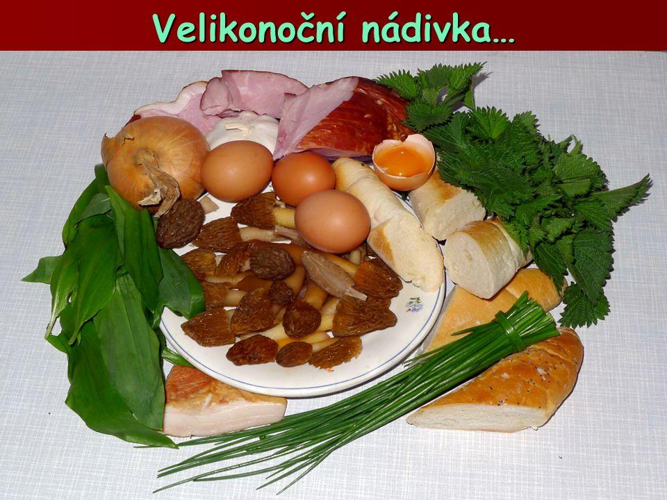 Velikonoční nádivka…  Mladé choroše šupinaté jsou šťavnaté a chutné  …