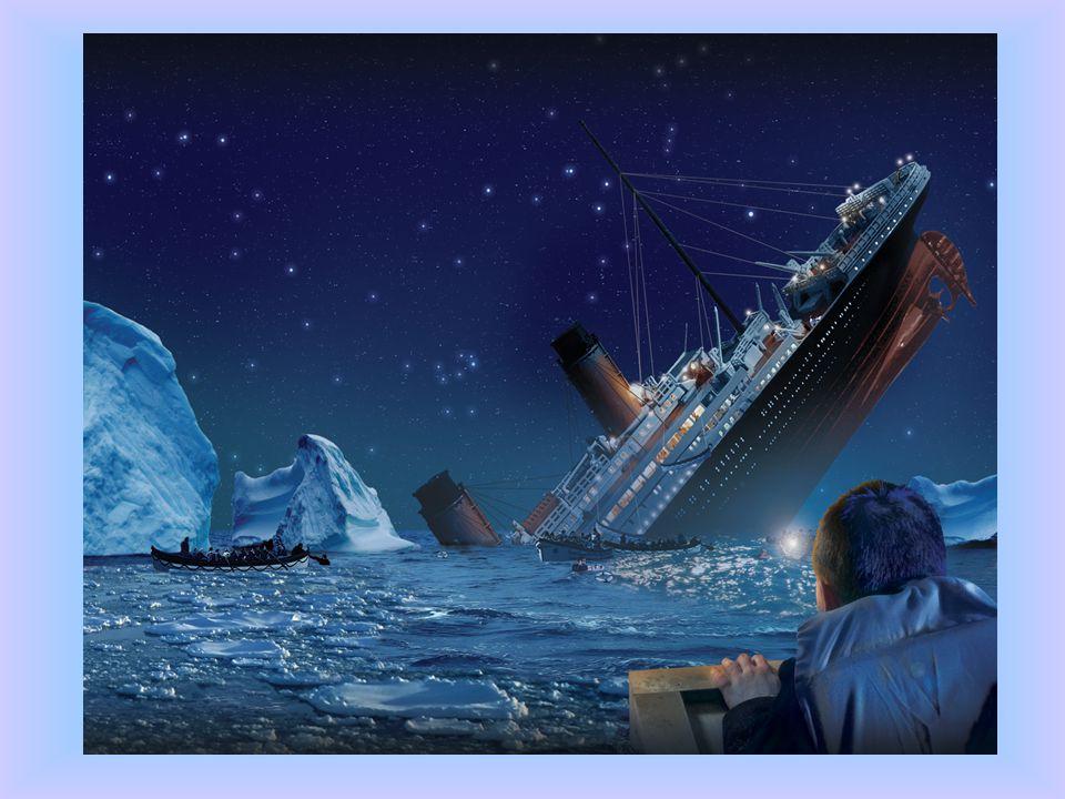 ZTROZKOTÁNÍ TITANICU Titanic však ztroskotal již během své první plavby. 14. dubna 1912 ve 23:40 se parník srazil s ledovcem. Po necelých třech hodiná