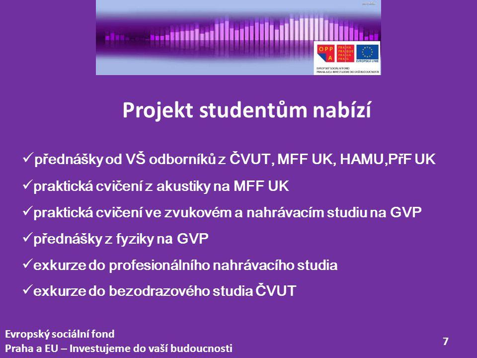 Evropský sociální fond Praha a EU – Investujeme do vaší budoucnosti 8 doc.