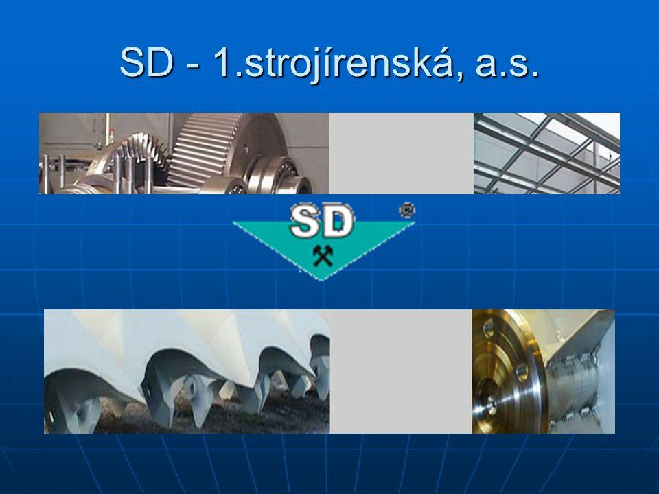 SD - 1.strojírenská, a.s.