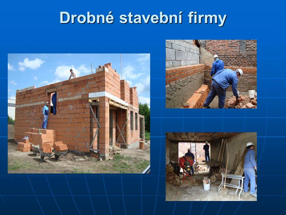 Drobné stavební firmy