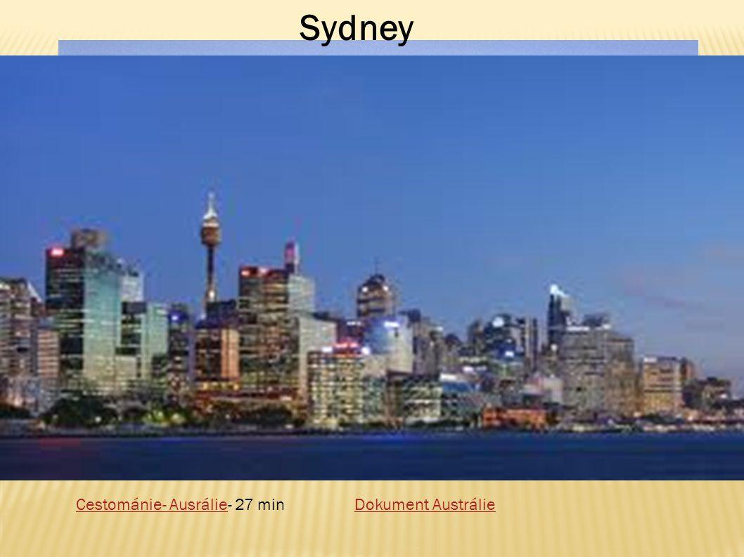 Sydney Dokument AustrálieCestománie- AusrálieCestománie- Ausrálie- 27 min