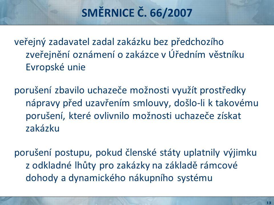 VÝVOJ NÁRODNÍ PRÁVNÍ ÚPRAVY nařízení č.