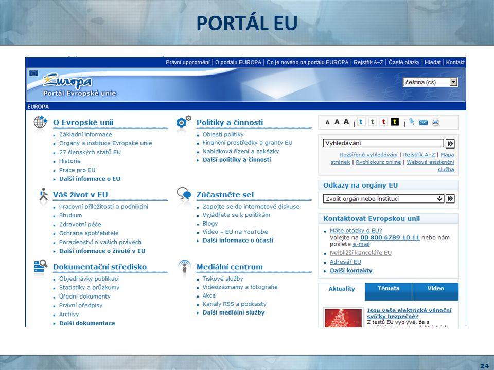 EVROPSKÝ SOUDNÍ DVŮR http://curia.europa.eu judikatura ESD vyhledávání v rozsudcích judikatura v konkrétních otázkách předběžné otázky 25