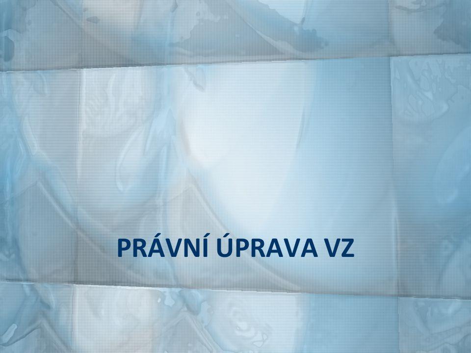 HIERARCHIE PRÁVNÍ ÚPRAVY směrnice Evropského parlamentu a Rady č.