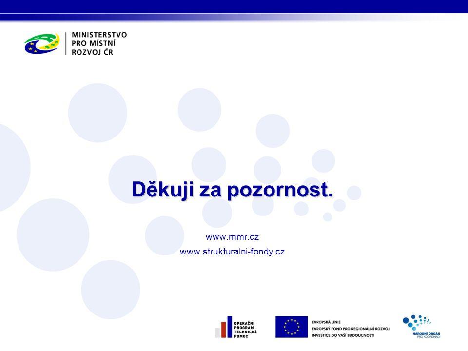 Děkuji za pozornost. www.mmr.cz www.strukturalni-fondy.cz