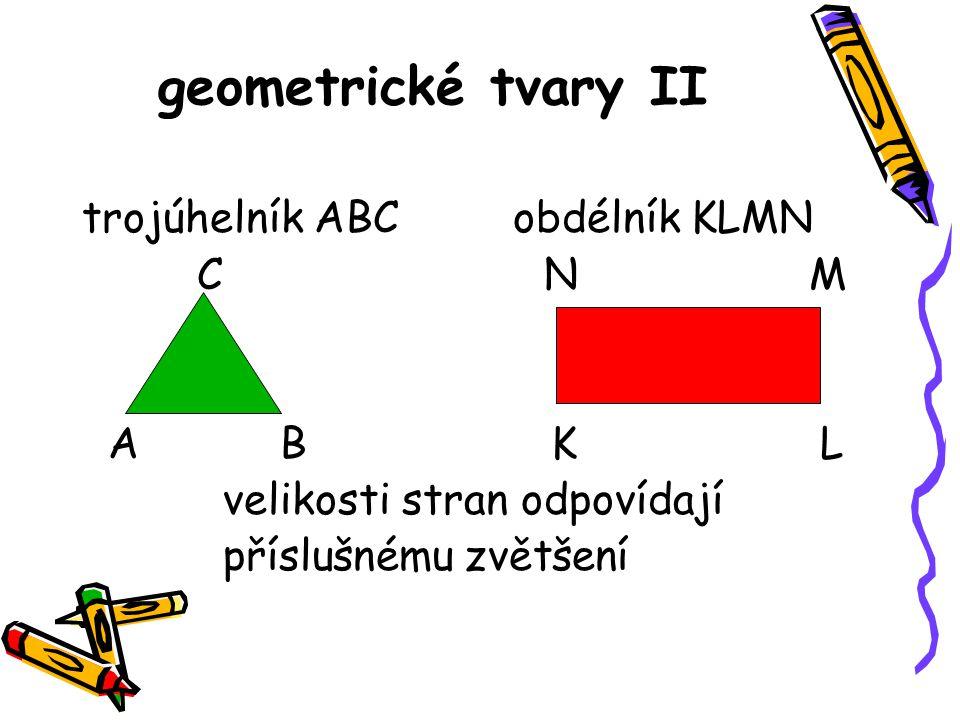 obdélníky: 12 trojúhelníky: 10 čtverce : 4 kruhy : 7 geometrické tvary I Jak si pejsek s kočičkou dělali k svátku dort
