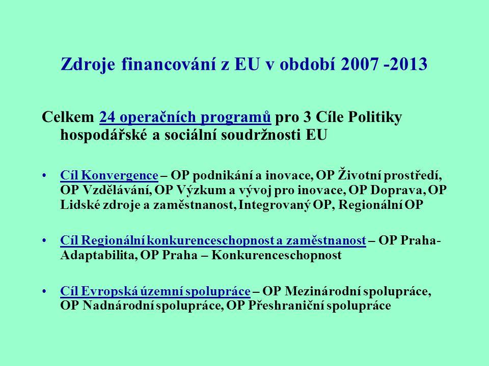 Operační program Průmysl a podnikání Poskytnuté dotace na programy: Prosperita - pro průmyslový výzkum, vývoj a inovaci, Reality -pro rozvoj podnikate