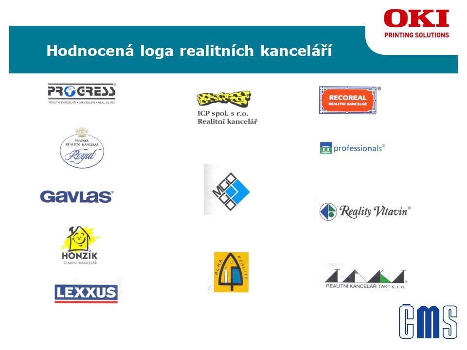 Hodnocená loga realitních kanceláří