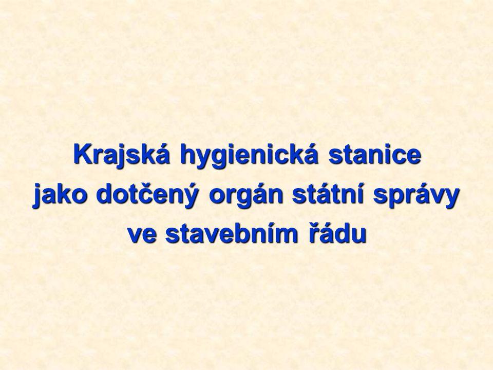 KHS jako dotčený orgán § 77 zákona č.