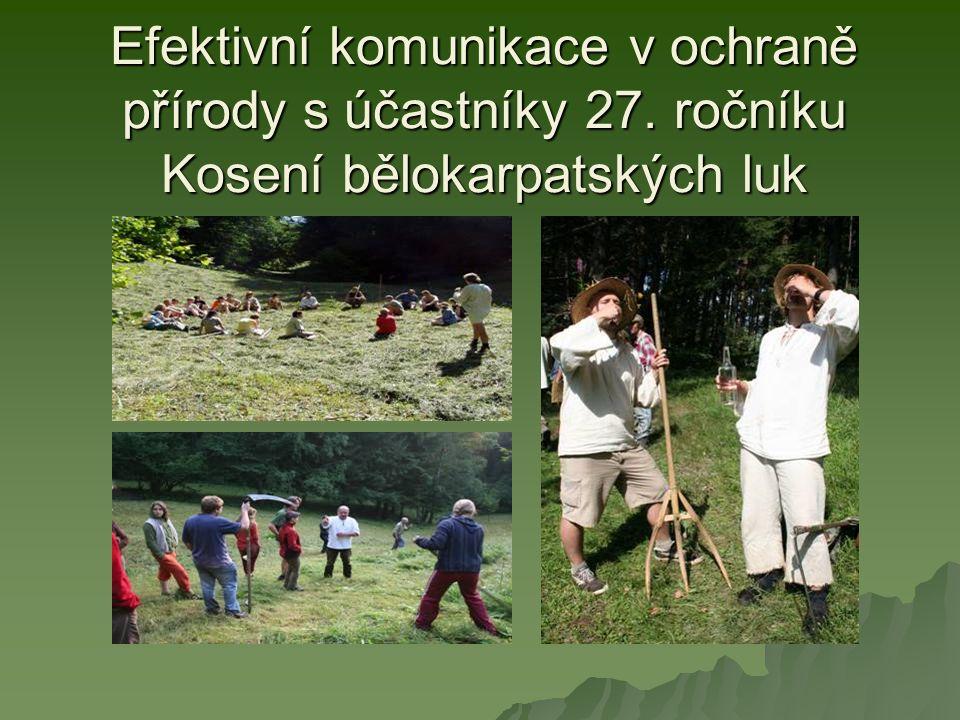 Zapojení vlastníků a uživatelů pozemků do přípravy nových plánů péče o maloplošná chráněná území na Valašskokloboucku