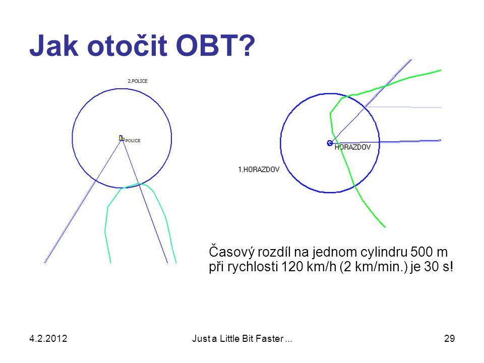 4.2.2012Just a Little Bit Faster...29 Jak otočit OBT.