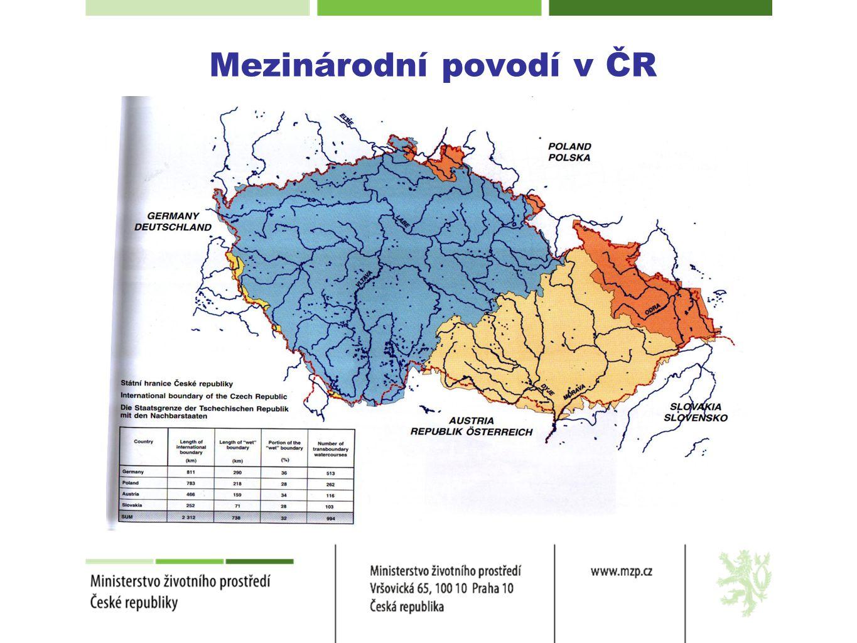 Mezinárodní povodí v ČR
