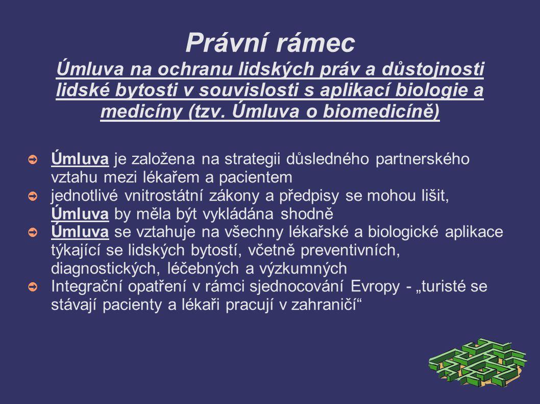 SITUACE V ČR ➲ 2006 - první pokus o standardizaci IS – vyhláška MZ ČR č.