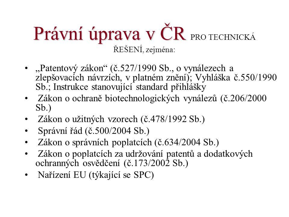 Patent CZ 300589 (patentové nároky v kategorii způsob a výrobek)