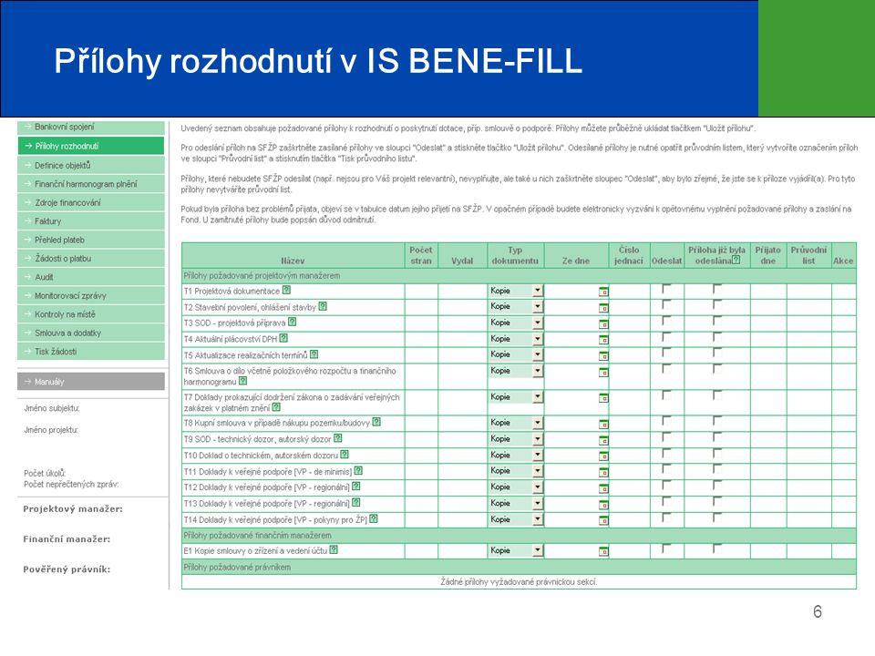17 Monitorování projektů  Průběžné monitorovací zprávy (PMZ)  Závěrečná monitorovací zpráva (ZMZ)  Závěrečné vyhodnocení akce (ZVA)