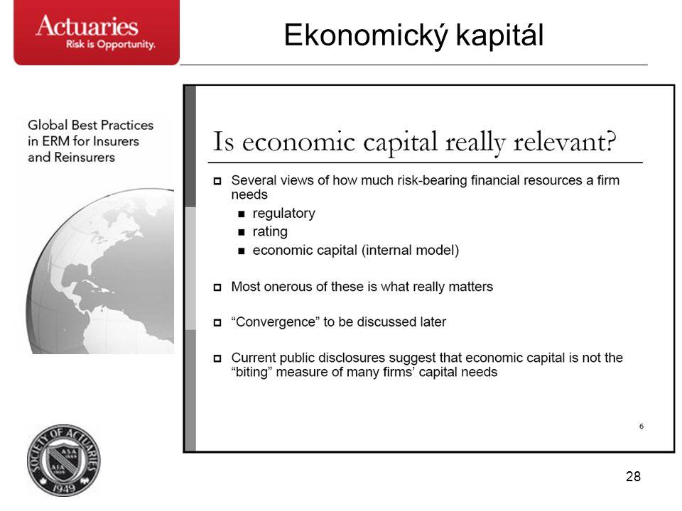 28 Ekonomický kapitál