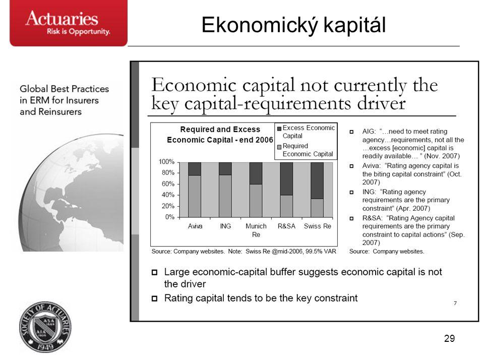 29 Ekonomický kapitál
