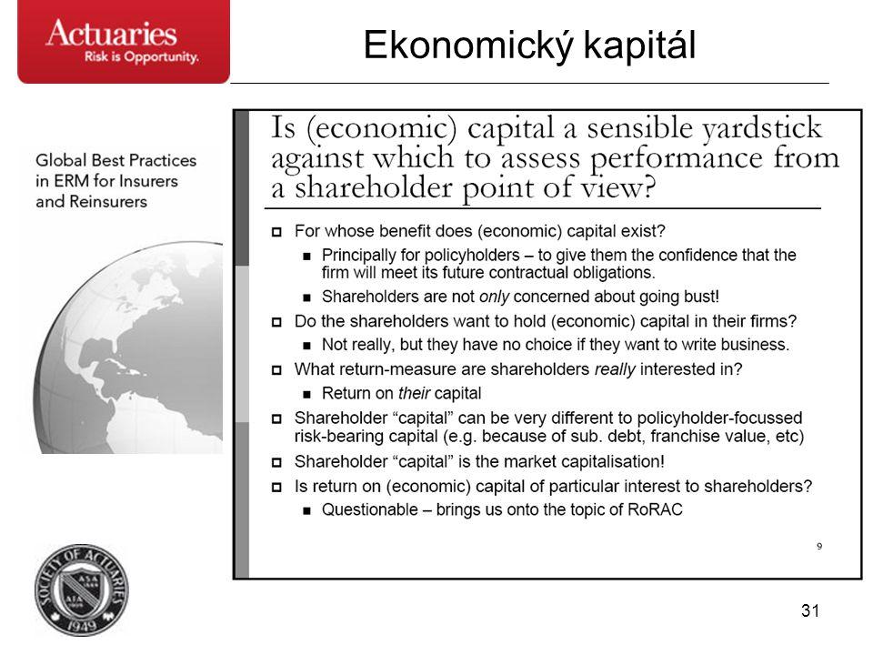 31 Ekonomický kapitál