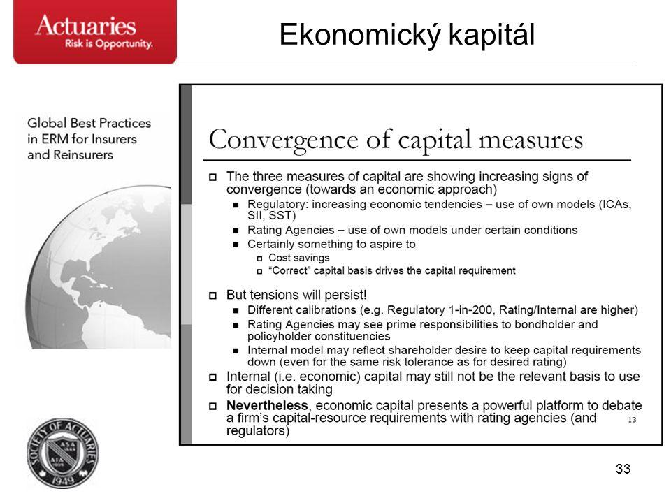 33 Ekonomický kapitál