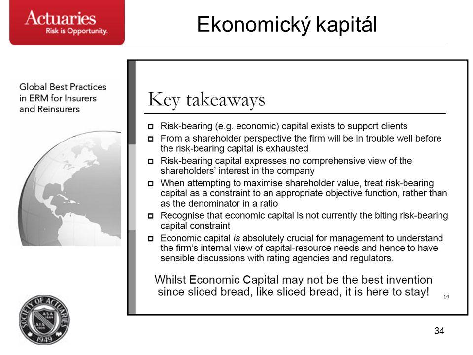 34 Ekonomický kapitál