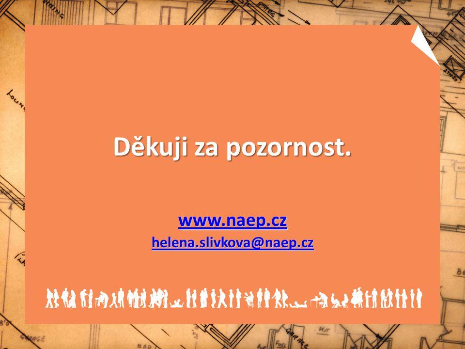 Děkuji za pozornost. www.naep.cz helena.slivkova@naep.cz