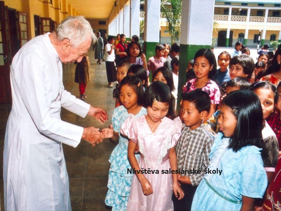 Návštěva salesiánské školy