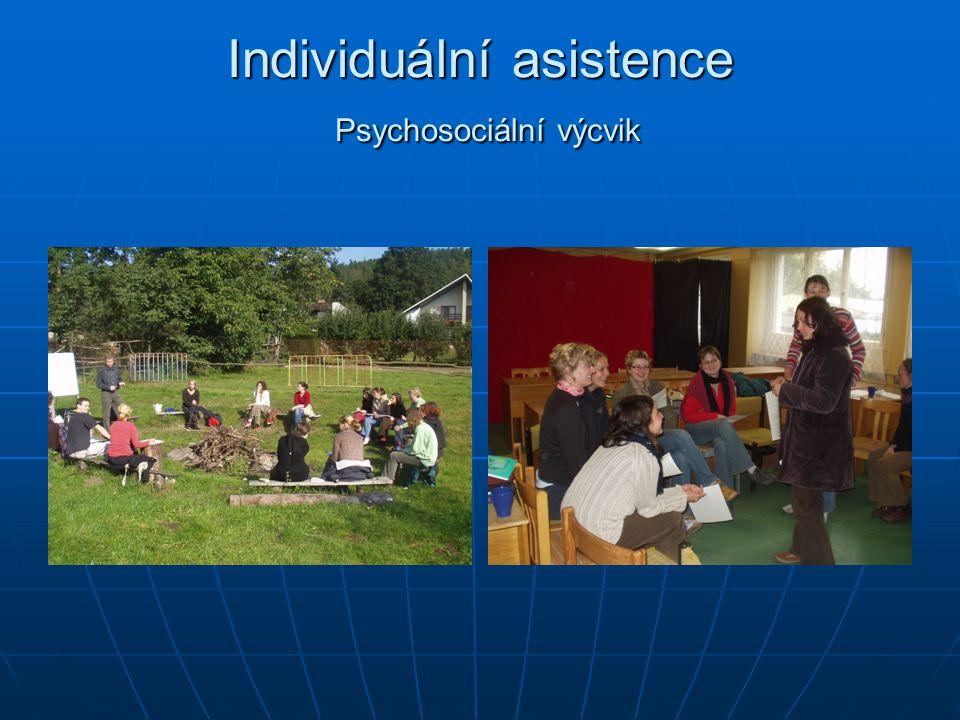 Individuální asistence Psychosociální výcvik