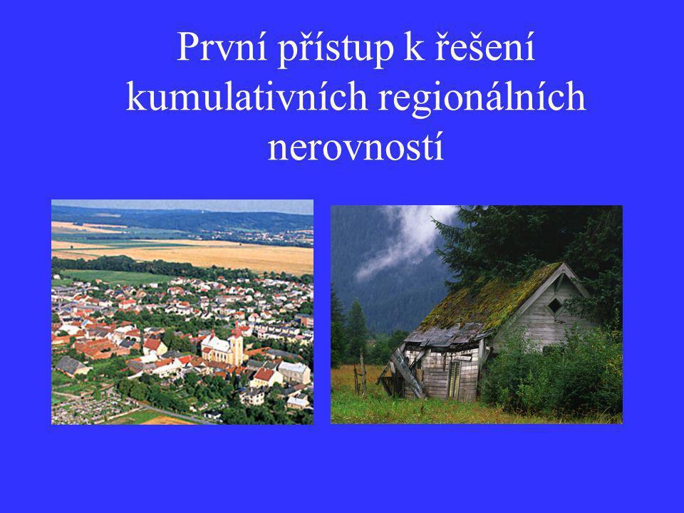 """Snahy o řešení nerovností mezi regiony (modely regionálního rozvoje) Představy o tom, že vše vyřeší """"moudrý stát"""" (fundamentalistický socialistický ko"""