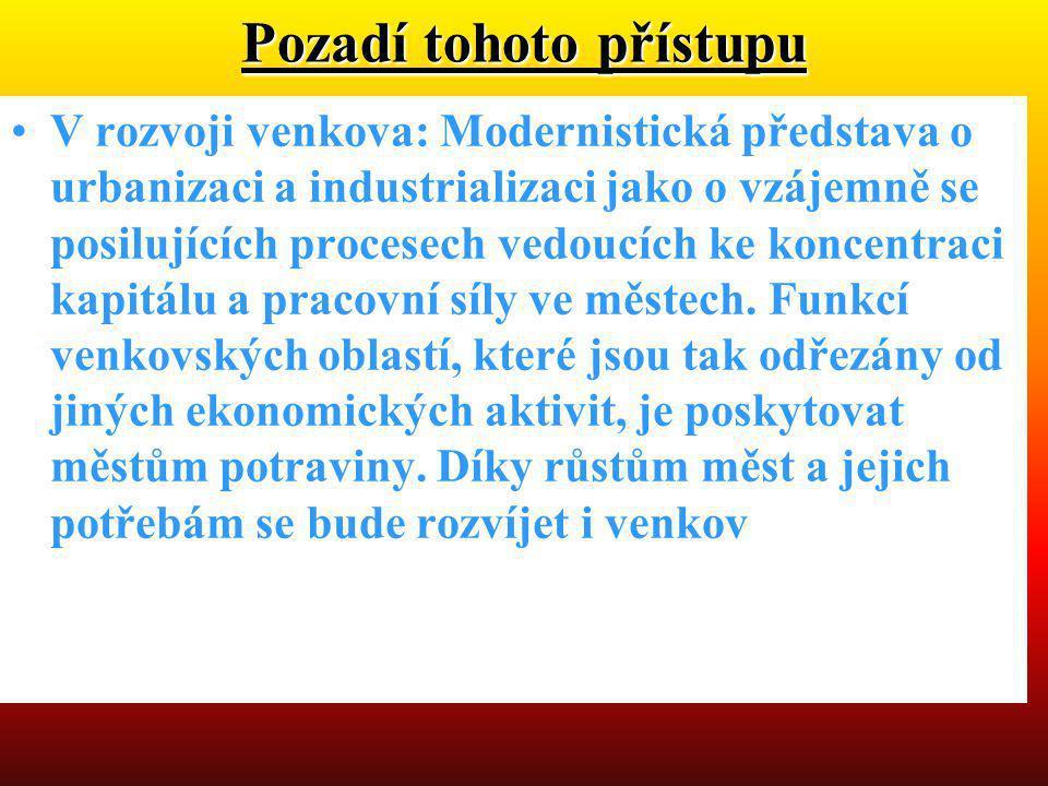 •Pracovní verze strategie regionálního rozvoje ČR na roky 2007-2013 •Velké městské aglomerace s diverzifikovanou strukturou ekonomiky a se zastoupením odvětví schopných generovat růst v okolí vytvářejí póly rozvoje.