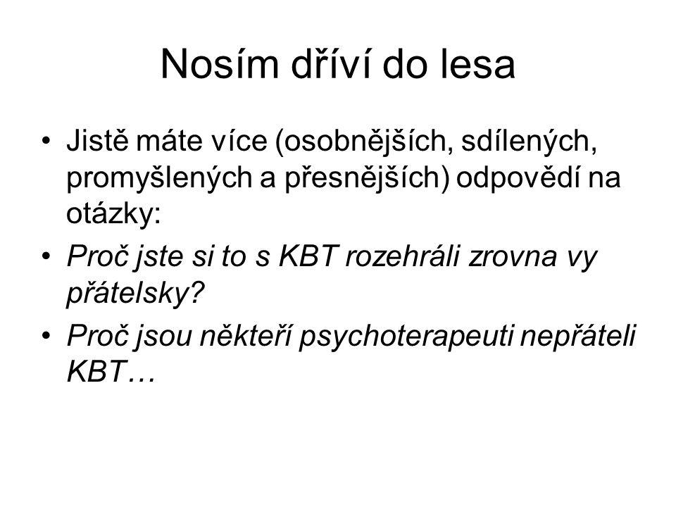 Co lze o KBT najít na internetu (19.