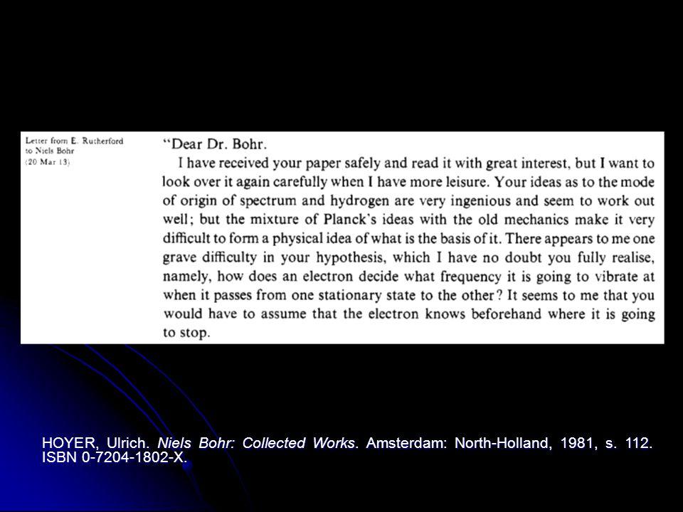 Část I.–Vázání elektronů kladnými jádry.§ 5. Permanentní stav atomového systému.