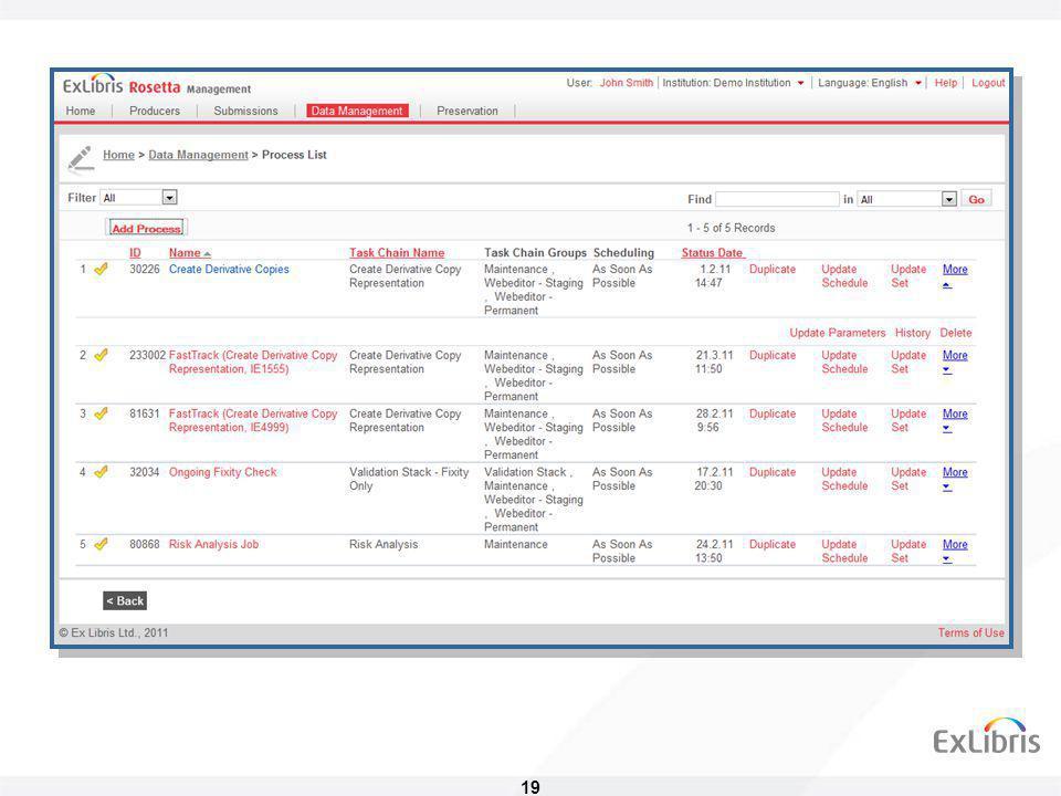 20 Permanentní repozitář • Trvalé uložení digitálních objektů • Minimální závislost na databázi a na SW aplikacích • Uchovávána je kompletní informace • Strukturální metadata • Popisná metadata • Administrativní metadata • Historie změn • Technická metadata • Verze objektů